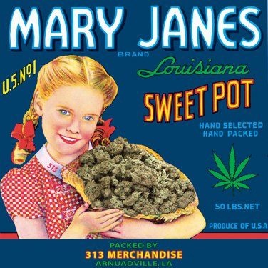 MARY JANES BRAND SWEET POT T-SHIRT