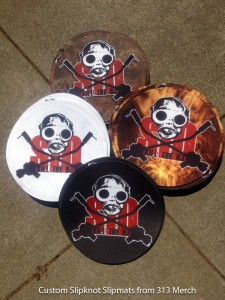 Slipknot Custom Slipmats