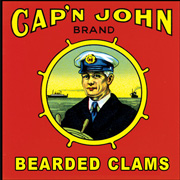 Cap'n John Bearded Clams T Shirt