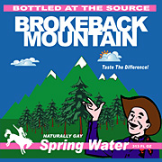 Brokeback Mt. Spring Water