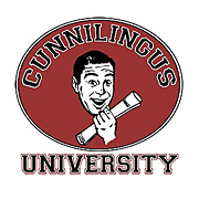 Cunnilingus University Shirt
