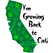 I'm Growing Back to Cali T Shirt