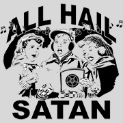 All Hail Satan Girls Tee
