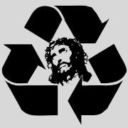 RECYCLE JESUS  IT T-SHIRT