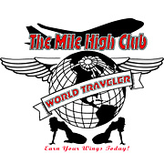 THE MILE HIGH CLUB T SHIRT