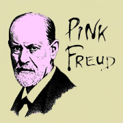 Pink Freud Girls T Shirt