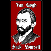 VAN GOGH FUCK YOURSELF T-SHIRT