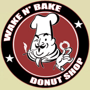 Wake N'ake Donut Shop Shirt