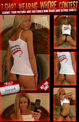Sarah Jane T-Shirt Hell Whore