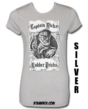 CAPTAIN DICKS RUBBER PRICKS T-SHIRT