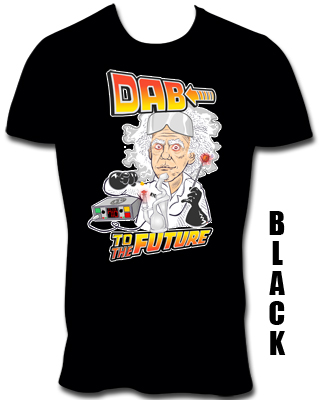 DAB TO THE FUTURE T- SHIRT
