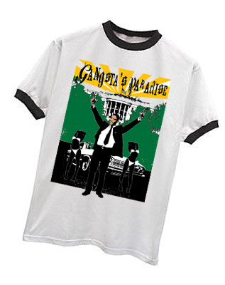 GANGSTA'S PARADISE OBAMA T-SHIRT