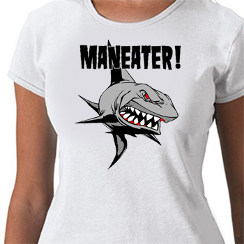 Maneater Shark t Shirt