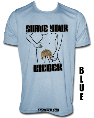 Shave Your Bieber T-Shirts