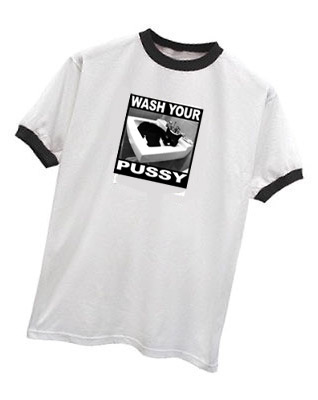 WASH YOUR PUSSY T-SHIRT