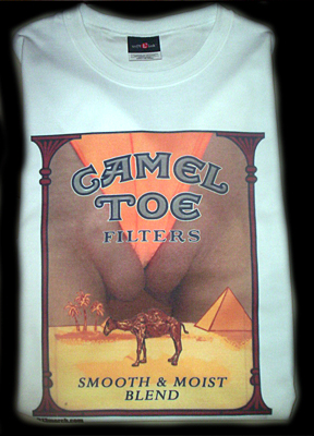 CAMEL TOE FILTERS T-SHIRT